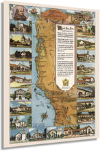 Load image into Gallery viewer, 1949 California Missions