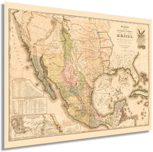 Load image into Gallery viewer, HISTORIX 1847 Mapa de Los Estados Unidos de Méjico