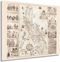 Load image into Gallery viewer, 1734 Philippines Map