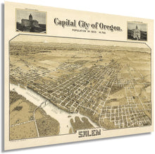Load image into Gallery viewer, 1905 Capital city of Oregon, Salem