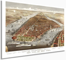 Load image into Gallery viewer, 1876 The city of New York