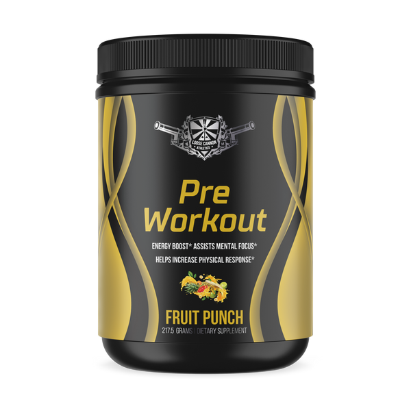 Nitric Shock Pre-Workout (Fruit Punch)