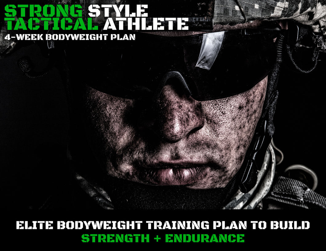Tactical Athlete Bodyweight Program