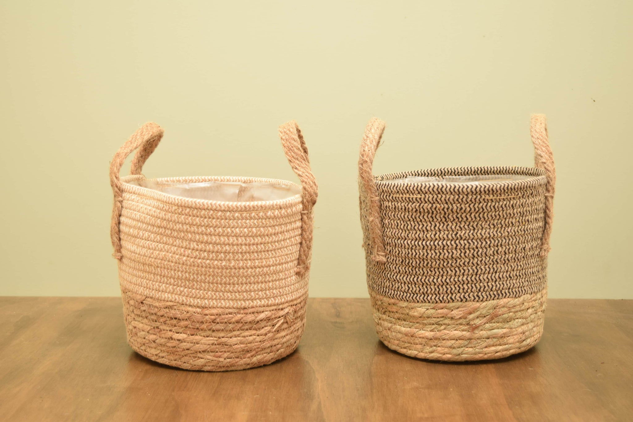 Rope and Seagrass Basket