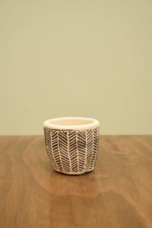 Mini Scandi Boho Cement Pot