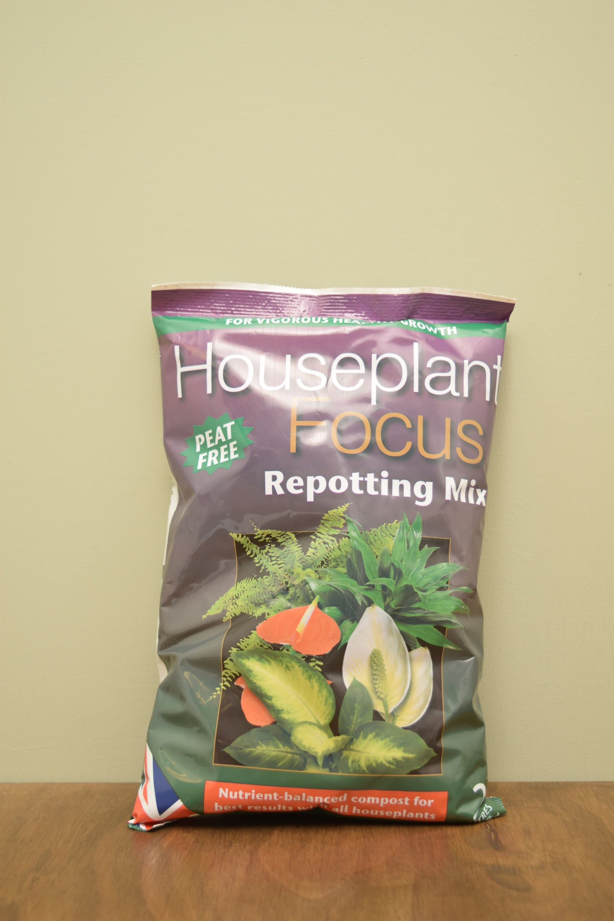 Houseplant Focus Peat Free Repotting Mix