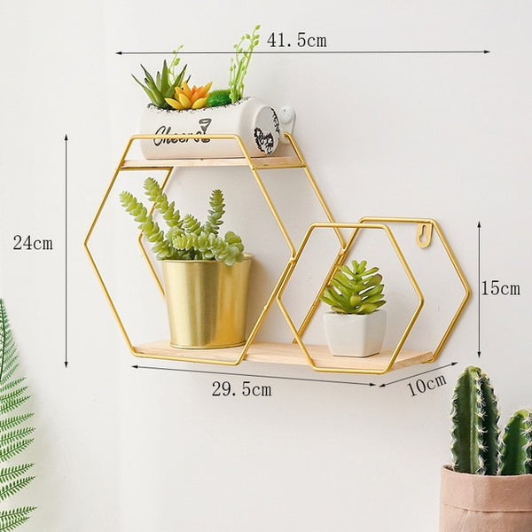 Floating Metal Shelf