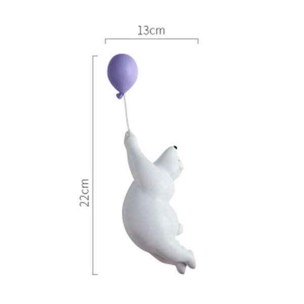Polar Bear with Balloon