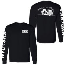 Load image into Gallery viewer, Moon Ska Dog Long Sleeve Shirt - Black