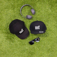 Load image into Gallery viewer, Black Icon Cap - The Rec Room Merch