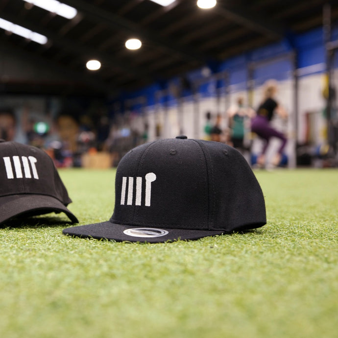 Black Icon Snapback - The Rec Room Merch