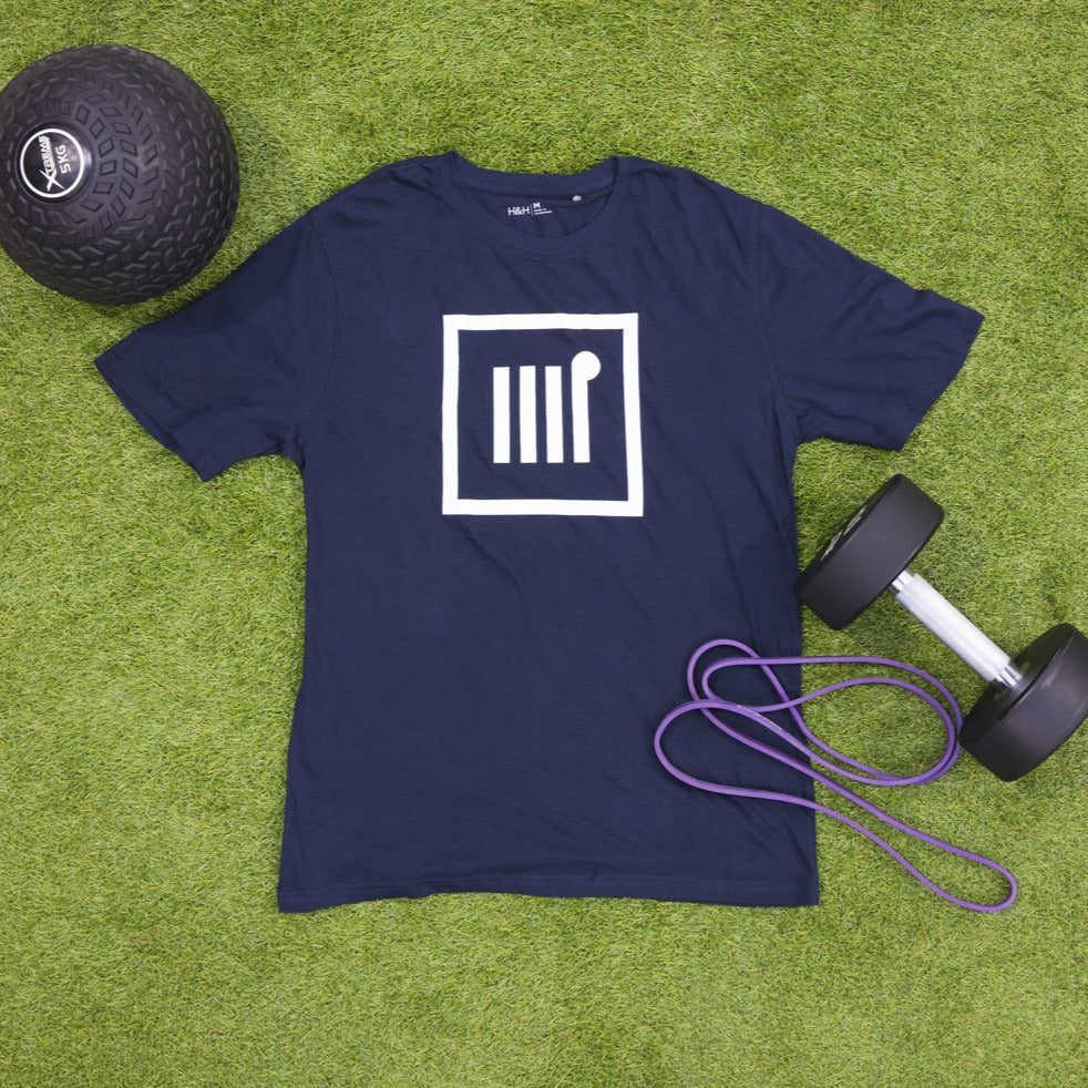 Mens Blue Icon Tee - The Rec Room Merch