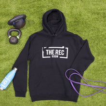 Load image into Gallery viewer, Black Unisex Hoodie - The Rec Room Merch