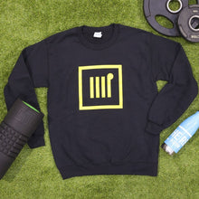 Load image into Gallery viewer, Unisex Black Crew Neck - The Rec Room Merch