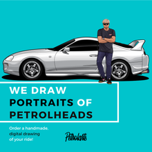 Load image into Gallery viewer, PETROLARTS - DIGITAL DRAWINGS FOR PETROLHEADS