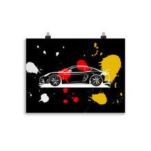 Load image into Gallery viewer, GT4 - black Poster