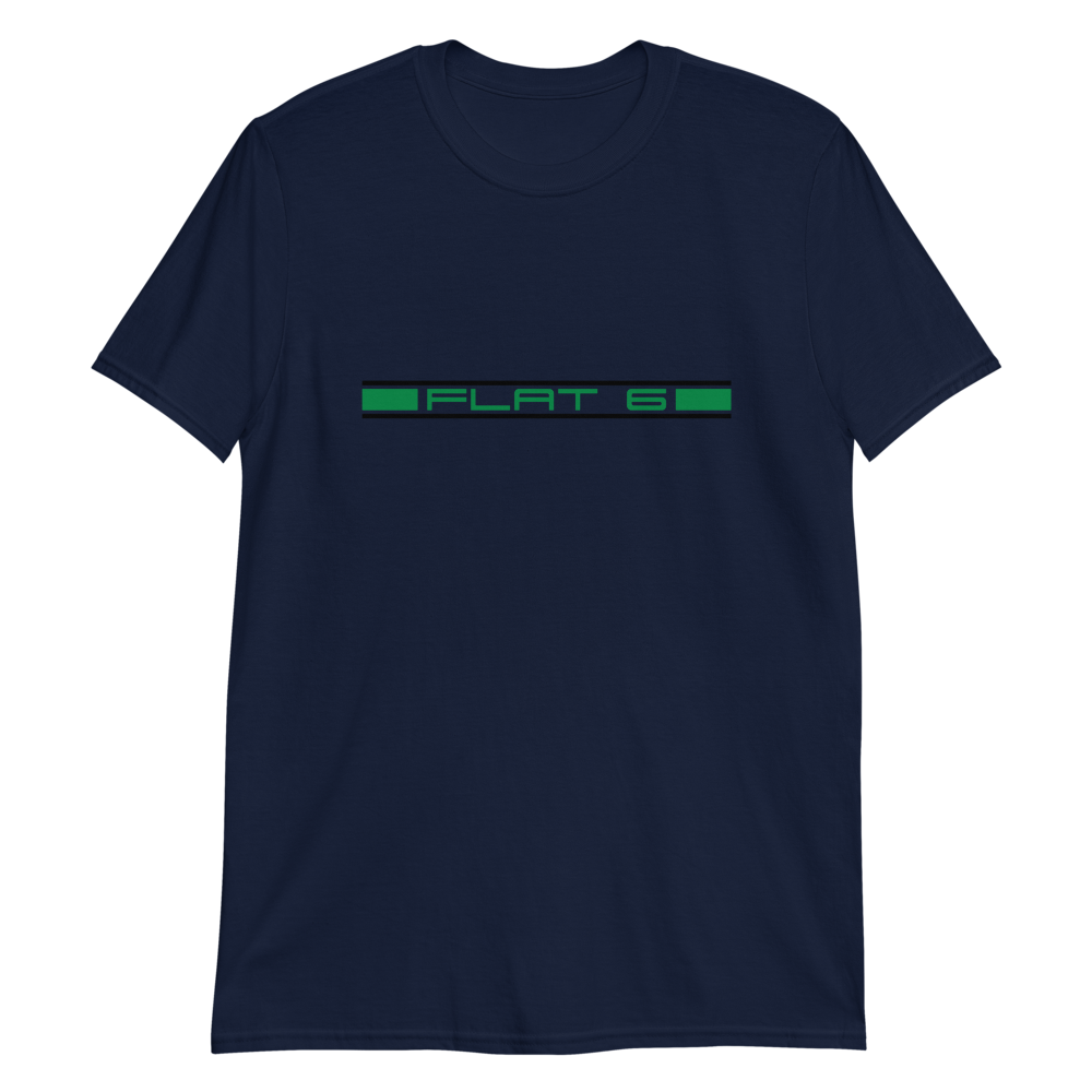 Flat 6 black/green T-Shirt