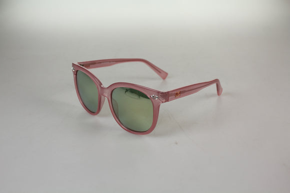 Gionni Sunglasses - Large Wafer With Swarovski Detail Sunglasses in Pink