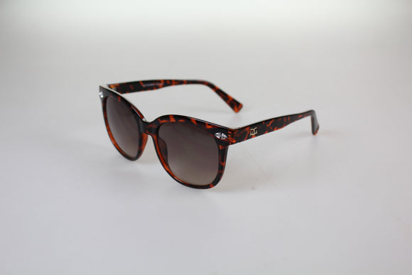 Gionni Sunglasses - Large Wafer With Swarovski Detail Sunglasses in Torta