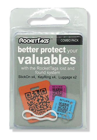 Combo Pack - RocketTags - Subscription - Quarterly