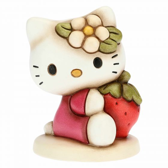 HELLO KITTY CON FRAGOLA CM.10,5 H