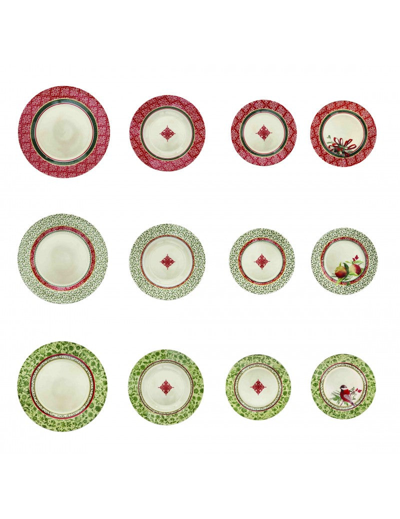SERV.TAVOLA 18 PZ. CANTICO NEW BONE CHINA