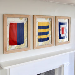 Framed Nautical Flag