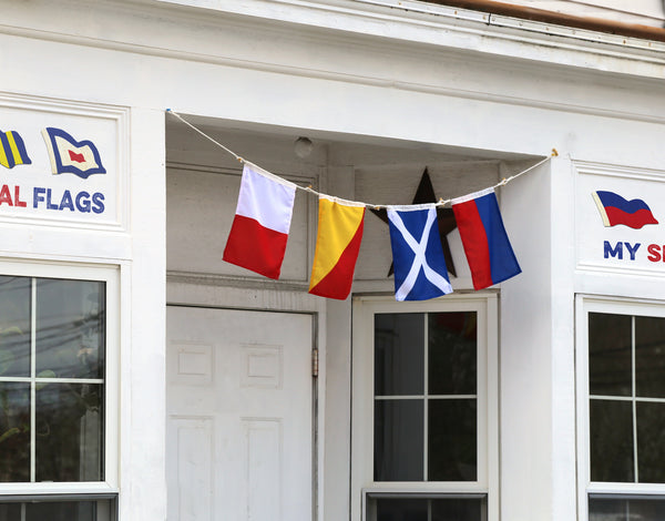 Nautical Flags decoration