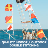 indoor / outdoor nautical signal flags