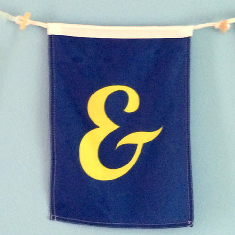 """&"" Nautical Signal Flag - mysignalflags"
