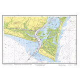 Southport / Cape Fear Nautical Chart Placemat - 4 pack - mysignalflags