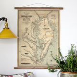 Chesapeake Bay Vintage Nautical Chart, c. 1862 - mysignalflags
