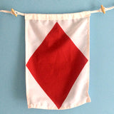 """F"" Nautical Signal Flag - mysignalflags"