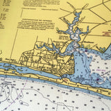 Destin, Florida and Choctawhatchee Bay Vintage Nautical Chart - mysignalflags