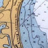 Block Island Nautical Chart, c. 1952 - mysignalflags