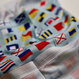 "Signal Flags Neck Gaiter - ""Bandanity"""