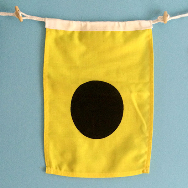 """I"" Nautical Signal Flag"