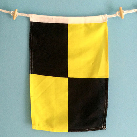 """L"" Nautical Signal Flag - mysignalflags"