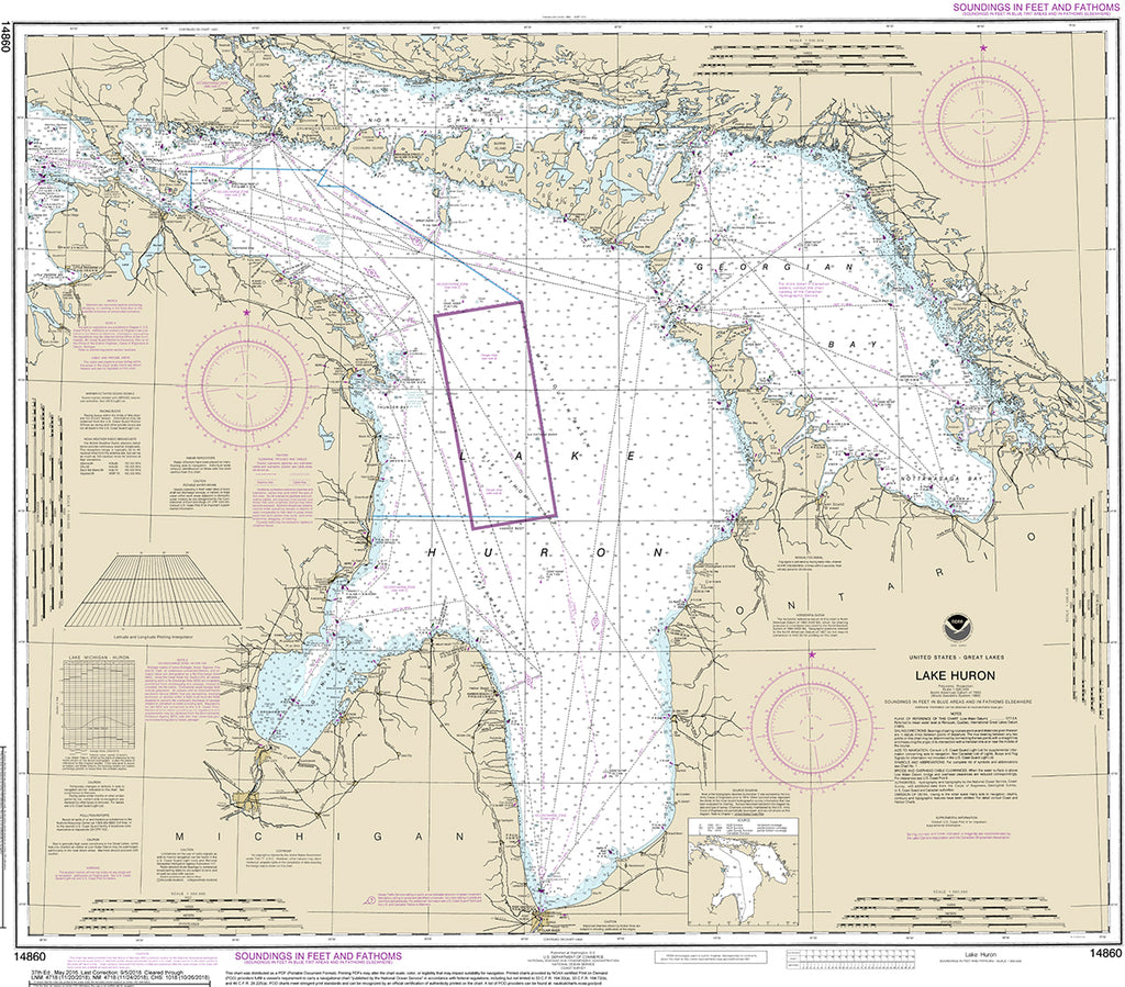 NOAA Navigational Charts - Print on Demand – My Signal Flags