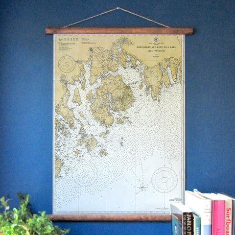 Mount Desert Island, Maine Nautical Chart - mysignalflags