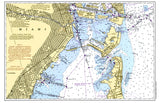 Miami, FL Nautical Chart Placemat - 4 pack - mysignalflags