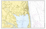 Rehoboth Beach Vintage Nautical Chart Placemat - 4 pack - mysignalflags