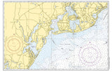 Cotuit - Santuit, MA Vintage Nautical Chart Placemat - 4 pack - mysignalflags