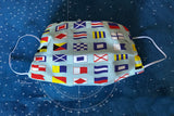 Signal Flags Fabric Face Mask