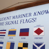 Signal Flag Meanings Vintage Scroll