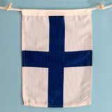 """X"" Nautical Signal Flag - mysignalflags"