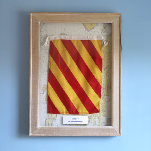 """Y"" Framed Signal Flag"