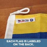 """D"" Nautical Signal Flag - mysignalflags"