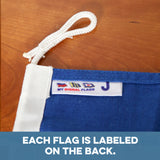 """J"" Nautical Signal Flag - mysignalflags"