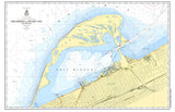 Presque Isle, PA Nautical Chart Placemat - 4 pack - mysignalflags